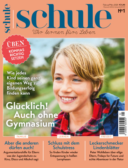Magazin SCHULE January 23, 2020 00:00