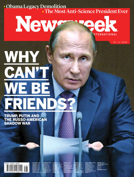 Newsweek November 18, 2016 00:00