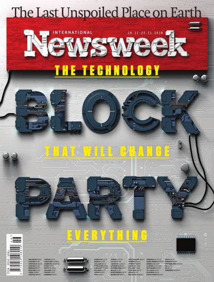 Newsweek November 16, 2018 00:00