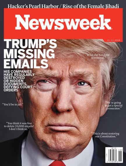 Newsweek US November 06, 2016 00:00