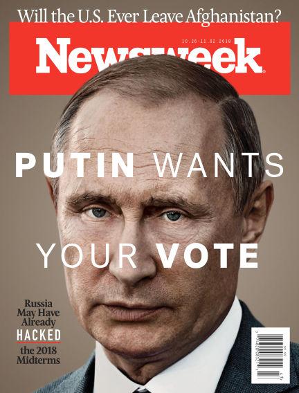 Newsweek US October 19, 2018 00:00
