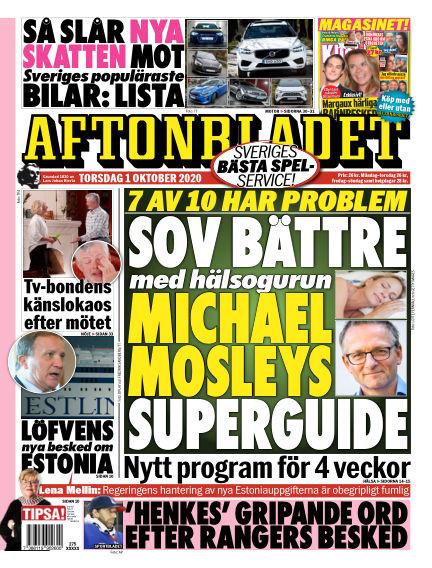 Aftonbladet October 01, 2020 00:00