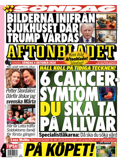 Aftonbladet October 04, 2020 00:00