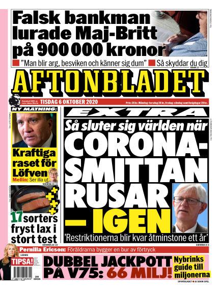Aftonbladet October 06, 2020 00:00