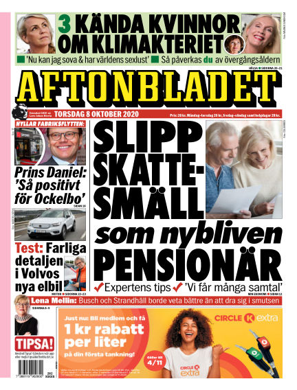 Aftonbladet October 08, 2020 00:00