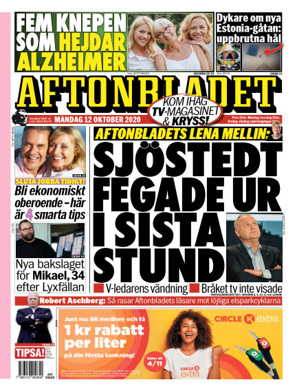 Aftonbladet October 12, 2020 00:00