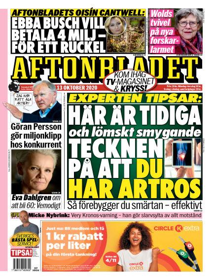 Aftonbladet October 13, 2020 00:00