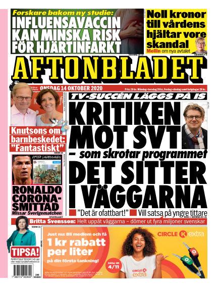 Aftonbladet October 14, 2020 00:00