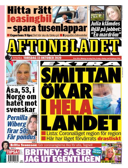 Aftonbladet October 15, 2020 00:00