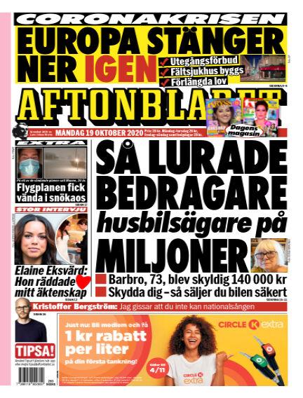 Aftonbladet October 19, 2020 00:00
