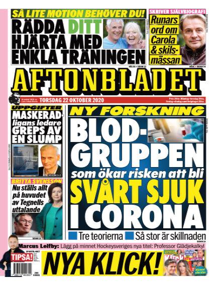 Aftonbladet October 22, 2020 00:00
