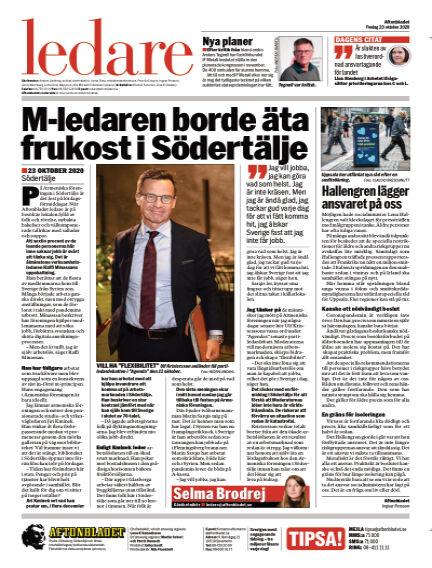 Aftonbladet October 23, 2020 00:00