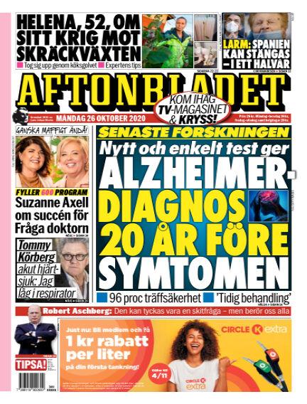 Aftonbladet October 26, 2020 00:00