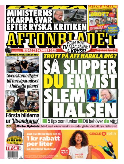 Aftonbladet October 27, 2020 00:00