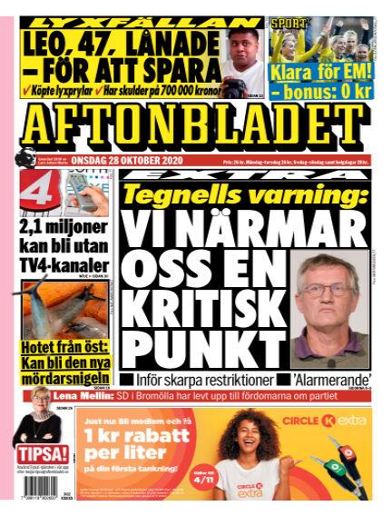 Aftonbladet October 28, 2020 00:00
