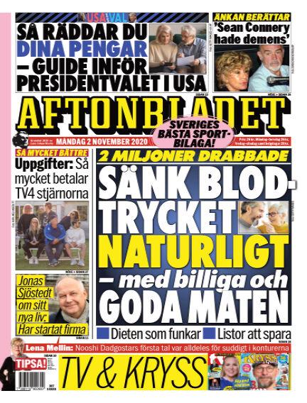 Aftonbladet November 02, 2020 00:00