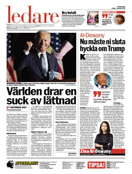 Aftonbladet November 07, 2020 00:00