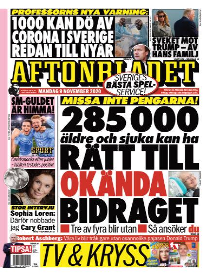 Aftonbladet November 09, 2020 00:00