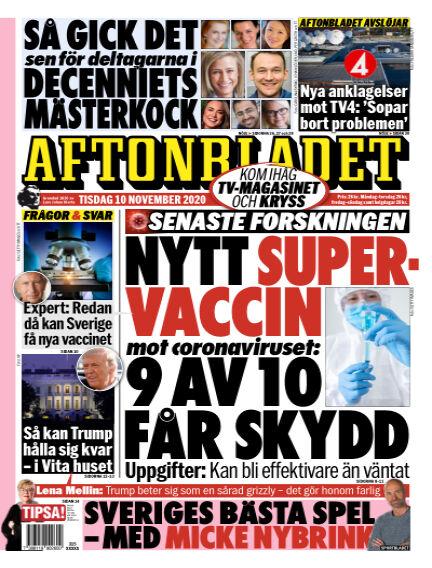 Aftonbladet November 10, 2020 00:00
