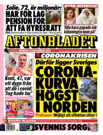 Aftonbladet November 16, 2020 00:00