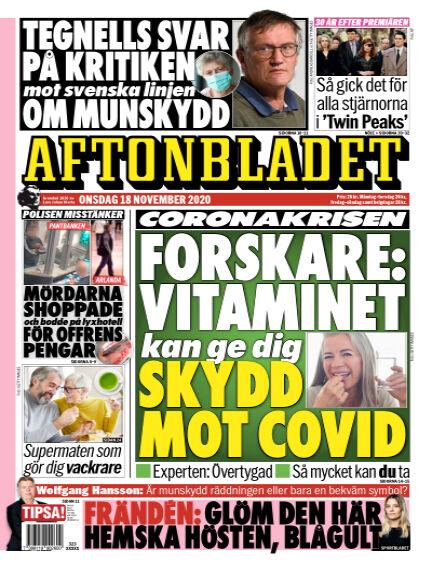 Aftonbladet November 18, 2020 00:00