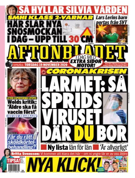 Aftonbladet November 19, 2020 00:00