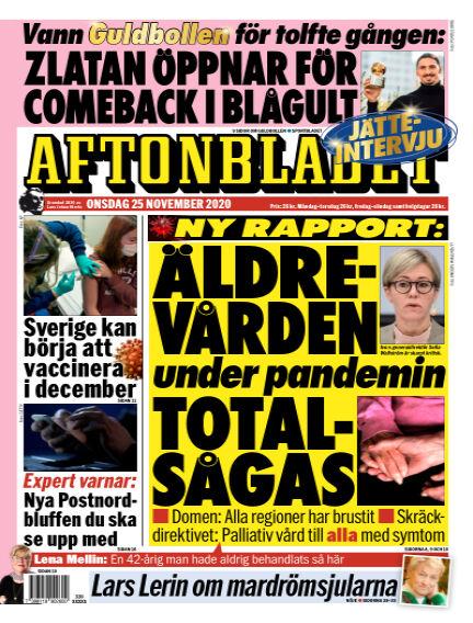 Aftonbladet November 25, 2020 00:00