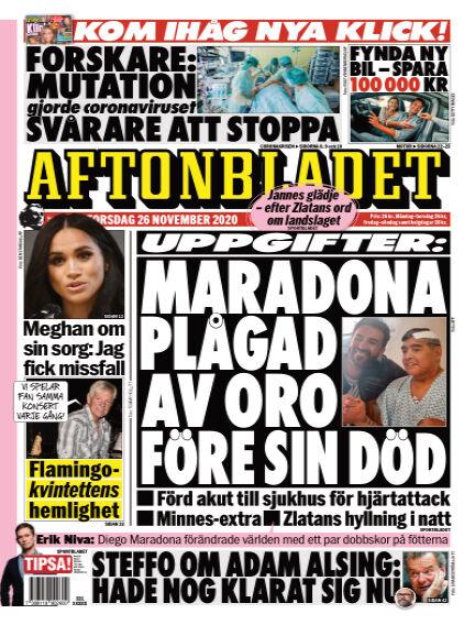 Aftonbladet November 26, 2020 00:00