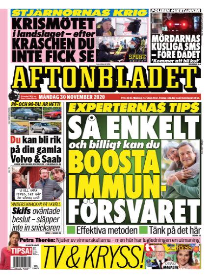 Aftonbladet November 30, 2020 00:00