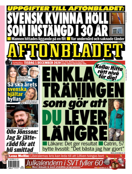 Aftonbladet December 01, 2020 00:00