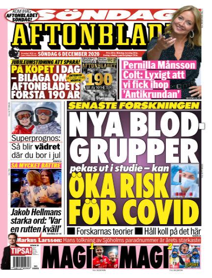 Aftonbladet December 06, 2020 00:00