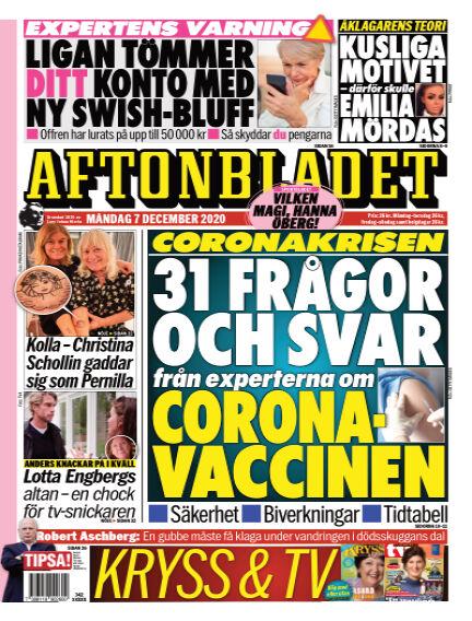 Aftonbladet December 07, 2020 00:00