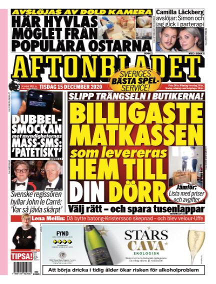Aftonbladet December 15, 2020 00:00
