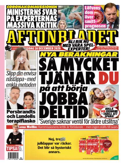 Aftonbladet December 16, 2020 00:00
