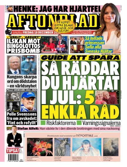 Aftonbladet December 18, 2020 00:00