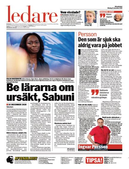 Aftonbladet December 21, 2020 00:00