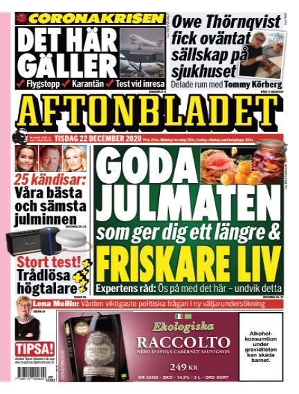 Aftonbladet December 22, 2020 00:00