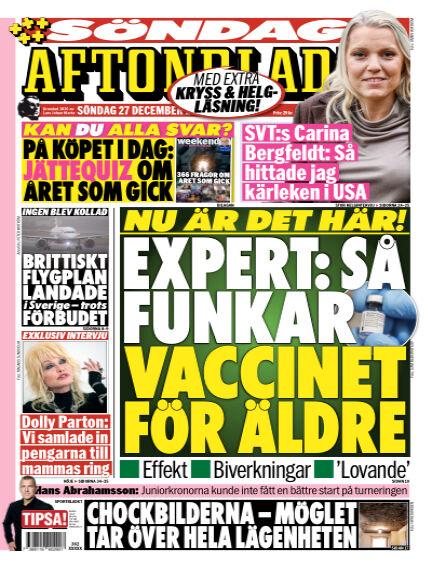 Aftonbladet December 27, 2020 00:00