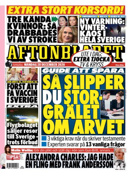 Aftonbladet December 28, 2020 00:00