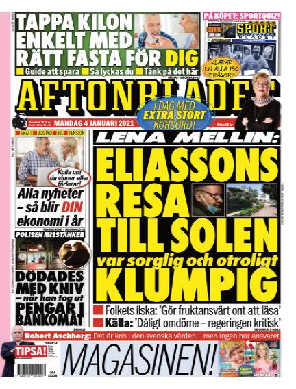 Aftonbladet January 04, 2021 00:00