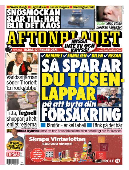 Aftonbladet January 12, 2021 00:00