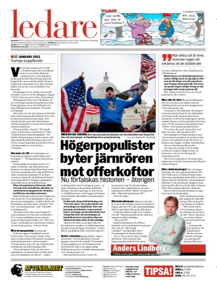 Aftonbladet January 17, 2021 00:00