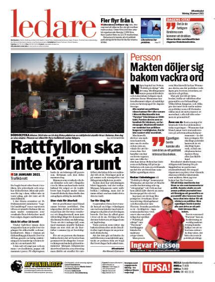 Aftonbladet January 18, 2021 00:00