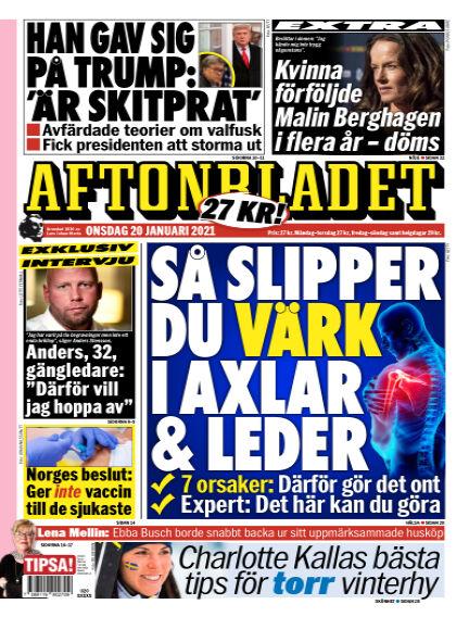 Aftonbladet January 20, 2021 00:00