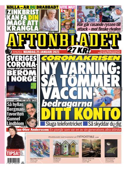 Aftonbladet January 25, 2021 00:00