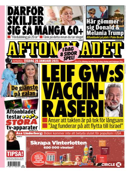 Aftonbladet January 26, 2021 00:00