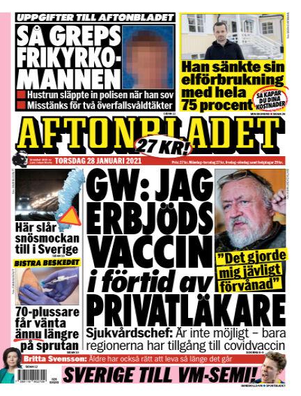 Aftonbladet January 28, 2021 00:00