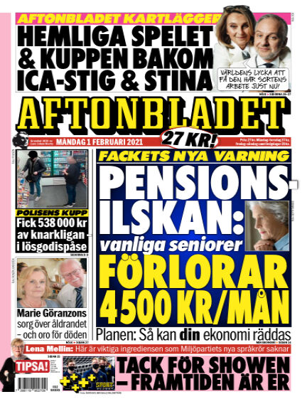 Aftonbladet February 01, 2021 00:00