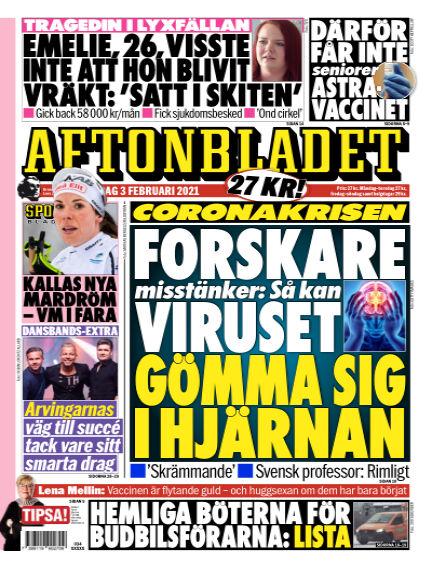 Aftonbladet February 03, 2021 00:00