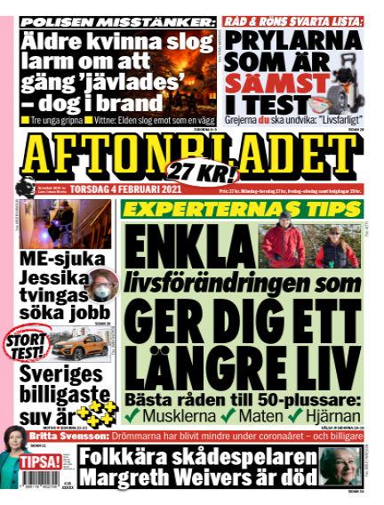 Aftonbladet February 04, 2021 00:00